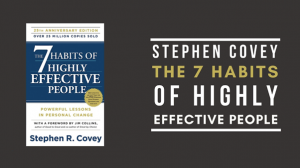 Increase your productivity by applying Steven Covey's 7 habits